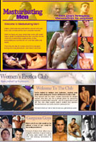 Masturbating Men and Women's Erotica Club